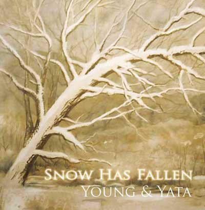 """cover of CD titled """"Snow has fallen""""."""
